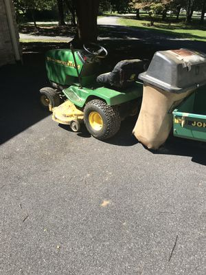 John Deere tractor 48 inch with wagon for Sale in Rockville, MD