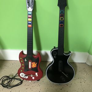 RedOctane Wired Guitar and Gibson Guitar PlayStation 2 for Sale in West Hartford, CT