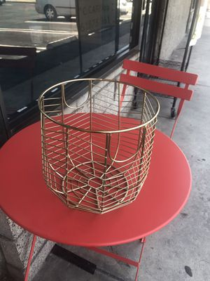Gold Basket for Sale in El Monte, CA