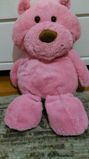 Pink bear stuffed animal 30 inches tall for Sale in Garden City, MI