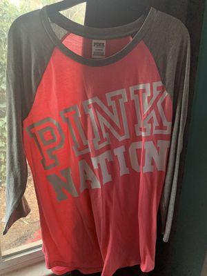Brand new PINK shirt size L for Sale in San Bernardino, CA