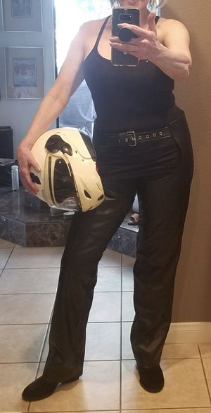 Motorcycle helmet and chaps for Sale in Duarte, CA