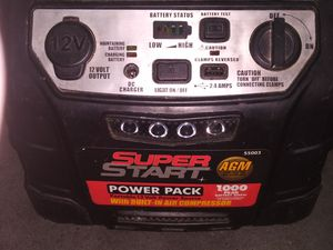 Super Pawer Pack With Air Compresor for Sale in Seattle, WA