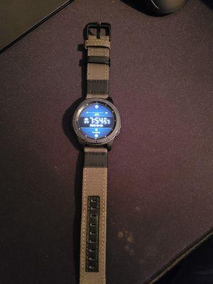 Samsung Gear S3 Frontier Smart watch for Sale in Houston, TX