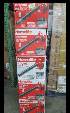 HOMELITE GAS 2 CYCLES BLOWER LIKE NEW for Sale in San Bernardino, CA