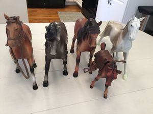 Cute Collectible Plastic Horses for Sale in Goodlettsville, TN