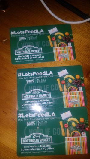 Food vouchers for Sale in Gardena, CA