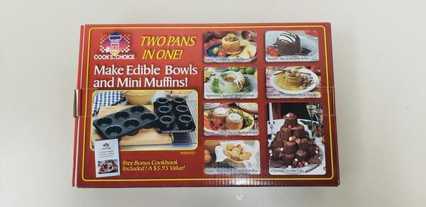 "Cook's Choice Edible Bowl Maker 3"" size"