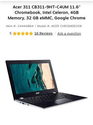 Acer 311 11.6in. Chromebook. BRAND NEW for Sale in Shingle Springs, CA