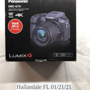 Panasonic LUMIX G7 4K Mirrorless Camera, with 14-140mm Power OIS Lens for Sale in Hollywood, FL