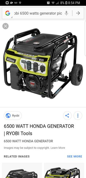 Brand new generator in the box 6500 wat0 for Sale in Richmond, VA