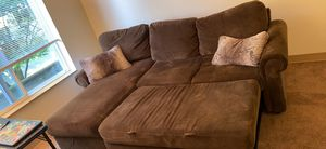 Brown Sleeper Sectional for Sale in Portland, OR