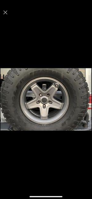 Jeep wrangler wheels for Sale in Miami, FL