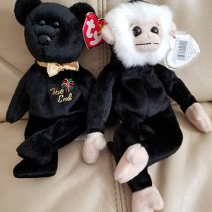 Beanie Babies TY Originals MOOCH and THE END both Rare for Sale in Coronado, CA