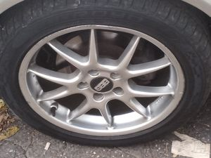 BBS rims with tires for Sale in Hartford, CT