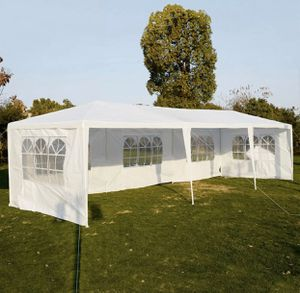 10'x30' Outdoor Party Canopy Tent with 8 Removable Sidewalls Gazebo Perfect for Parties and Outdoor Park Events! for Sale in Alpharetta, GA