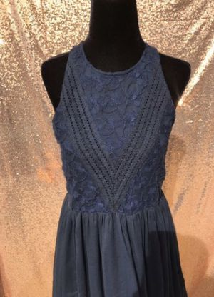 Abercrombie & Fitch Navy Cut Dress Women's Medium for Sale in Baldwin Park, CA