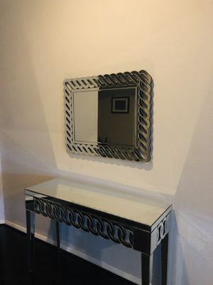 Wall Mirror and Console Table for Sale in Houston, TX