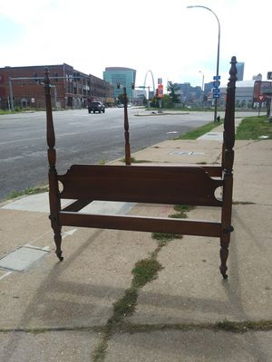 FULL size antique canopy 4 post bed by STICKLEY for Sale in St. Louis, MO