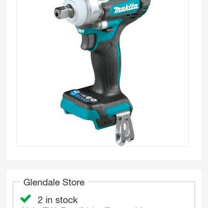 Lxt Brushless 1/2 Wrench Makita With Dent Anvil for Sale in Montebello, CA