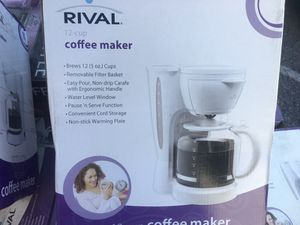 Rival 12 cup coffee maker for Sale in Orlando, FL
