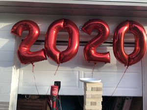 Graduation balloons! Bought yesterday.. perfect condition! for Sale in St. Petersburg, FL