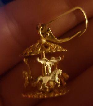 10k gold,custom made, earrings for Sale in Johnson City, TN