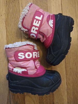 Y9* Sorel boots for Sale in Spokane, WA