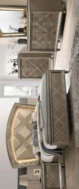 Cristal Gold LED Panel Bedroom Set for Sale in Baltimore, MD