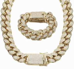 New 18 k yellow gold Cuban link chain and bracelet for Sale in Sunrise, FL