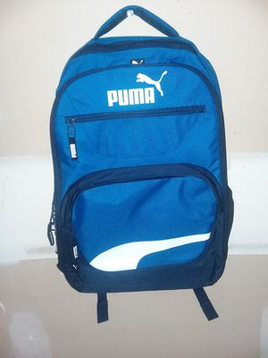 MAKE AN OFFER - Puma Blue/Black/White Squad Laptop Backpack - New Without Tags for Sale in Los Angeles, CA