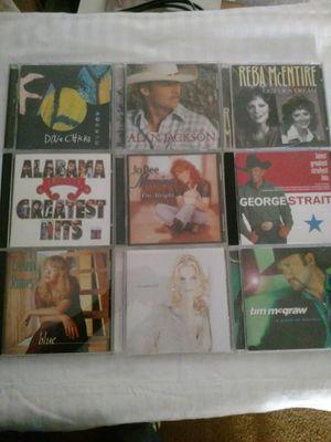 Country Music CD's set of 20 for Sale in Manassas, VA