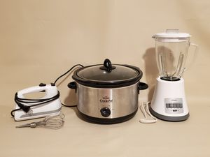 OSTER BLENDER, OSTER CONVECTION/TOASTER OVEN, RIVAL CROCK POT, KITCHENAID MIXER AND MORE for Sale in Vero Beach, FL