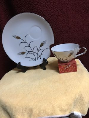 Norcrest China Silver/ Gold wheat pattern C-59 for Sale in Puyallup, WA