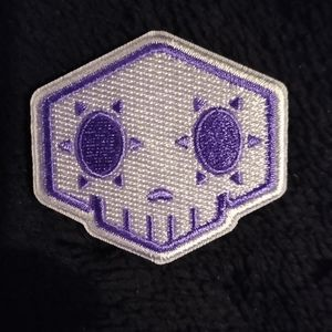 "Overwatch Character ""Sombra"" Symbol Iron On Patch for Sale in Albuquerque, NM"