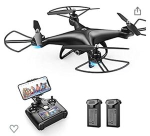 Holy stone HS110D with two batteries, controller, and drone with camera for Sale in Dearborn, MI