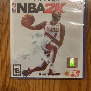 NBA 2k 21 Ps4 Brand New Factory Sealed for Sale in Rockville, MD