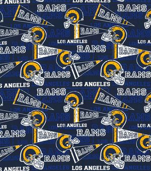 RAMS Football Cotton FABRIC- 2 yards for Sale in Bellflower, CA