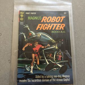 Gold key November 1966 Magnus robot fighter 4000 AD Comic book for Sale in Burien, WA