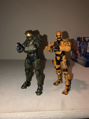 Halo figures for Sale in El Paso, TX