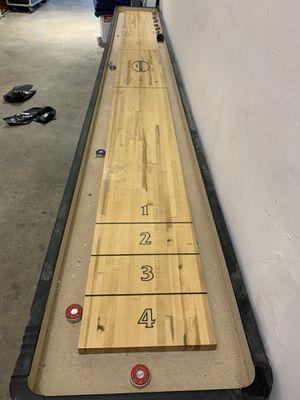 16' shuffle board for Sale in Fort Lauderdale, FL