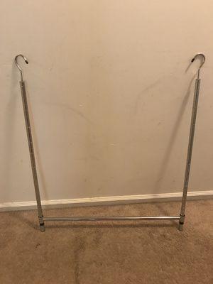 Adjustable hanging closet rod for Sale in Fort Washington, MD
