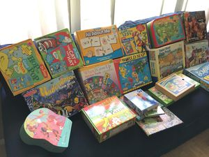 Kids puzzles and games $20 for Sale in San Diego, CA