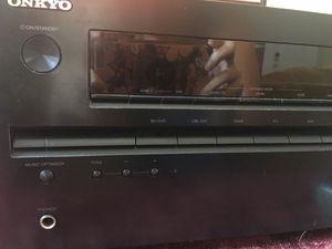Onkyo TX-NR414 Receiver for Sale in Gibsonton, FL