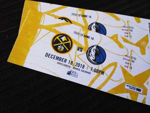 NBA-3rd ROW SEATS!!! - DENVER NUGGETS VS DALLAS MAVERICKS for Sale in Denver, CO