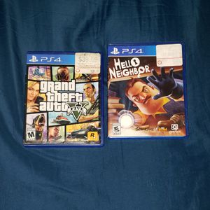 Gta 5 and hello neighbor **READ DESCRIPTION** for Sale in Dallas, TX