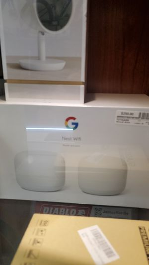 NEST WIFI ROUTER AND POINT NEW for Sale in Hialeah, FL