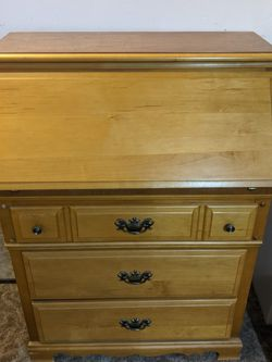 Beautiful Antique Maple Secretary Desk for Sale in Salem,  OR