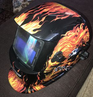 Welders Helmet- Speedway 'Start to Finish'- Like New for Sale in Vancouver, WA