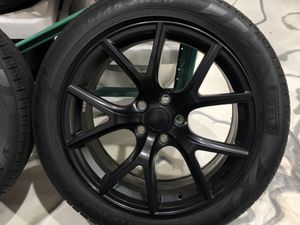 "Have one to sell? Sell now- Have one to sell? Jeep Cherokee Trackhawk OEM 20"" Wheels And Run Flat Tires (less than 250 Miles!) for Sale in Miami, FL"